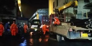 四川宜宾煤矿事故确定失联人员位置