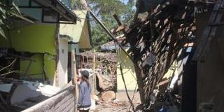 印尼发生6.3级地震 震源深度20千米