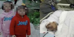6岁女童被父亲砍多刀 嫌疑人已被羁押