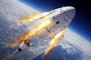 马斯克空中炸火箭 逃逸系统测试成功