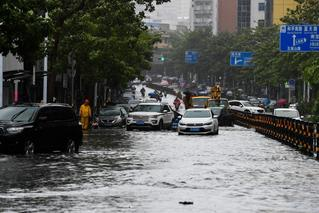 臺風黃警:浙江臺灣等地有大雨或暴雨