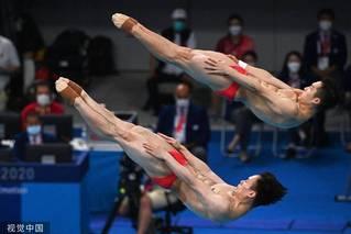 中国跳水双人三米板九年后再夺金