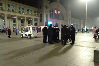 武汉离城通道关闭首日