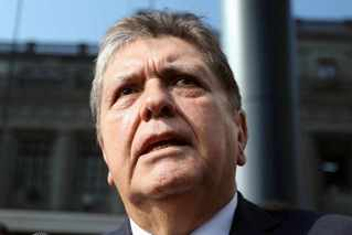 秘鲁前总统被捕时开枪自杀 全国降半旗