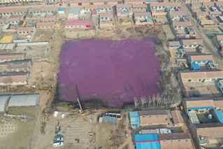 河北霸州现多个污染大坑 已进行治理