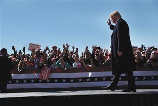 特朗普宣布美国将退出中导条约