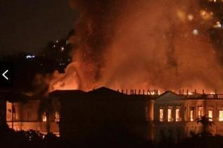 大火中的巴西博物馆:这些宝藏毁于一旦