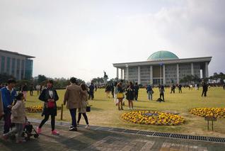 直击新冠疫情下的韩国国会选举