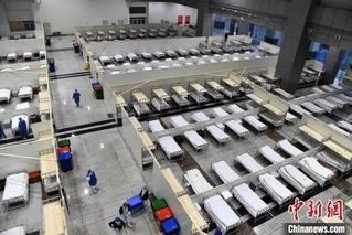 武汉启用7个方舱医院 收治4313名患者