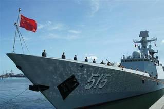 """我军054A舰抵达德国参加""""基尔周"""""""