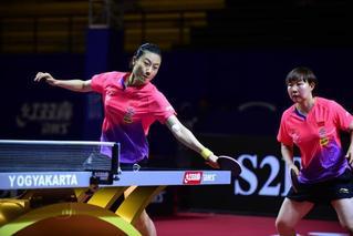 中国包揽亚洲乒乓球锦标赛全部7项冠军