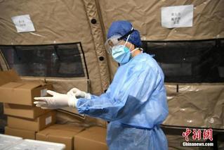 武汉再增定点医疗点:增加5400个床位