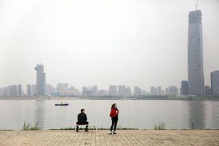 武汉解封倒计时:复苏的汉口江滩