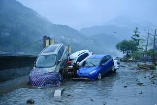 四川阿坝州多地强降雨致上万人受灾