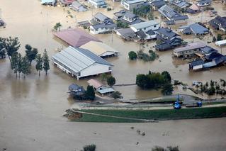 """强台风""""海贝思""""在日本造成33人亡"""