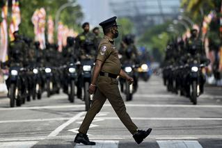 斯里兰卡首都举行独立日阅兵彩排