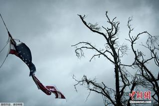 最强飓风登陆美国 佛州有人员死亡