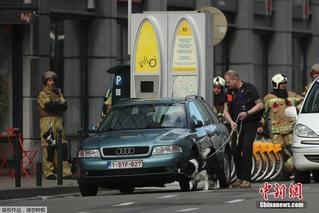 欧盟总部附近突发炸弹警报 警方封锁