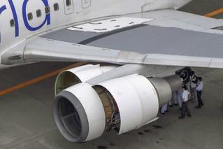日本客机起飞三分钟后零件掉落 紧急返航
