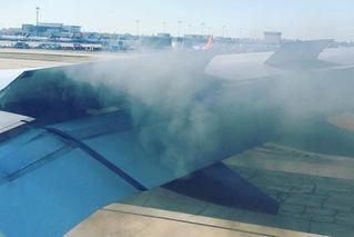 美国一客机飞行中发动机冒烟 紧急着陆