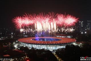 雅加达亚运会开幕式精彩集锦