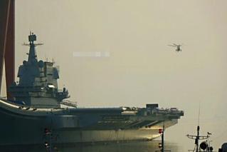 军迷曝国产航母首降舰载直升机