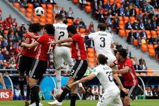 乌拉圭1-0埃及 希门尼斯头球绝杀