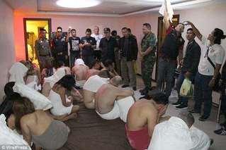 泰警突袭非法酒店色情派对 中国老板被捕