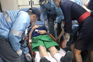 飞机放油45吨 备降东京机场救人