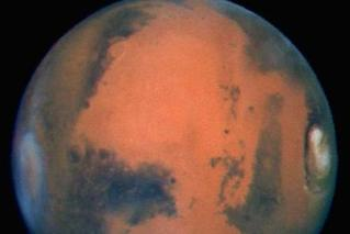 颜控福利!火星表面竟宛若仙境(多图)