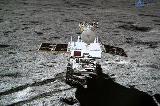玉兔二號月球車自主喚醒 開始後續工作