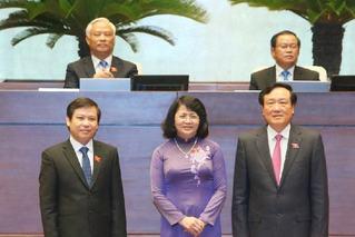 邓氏玉盛出任越南国家代主席