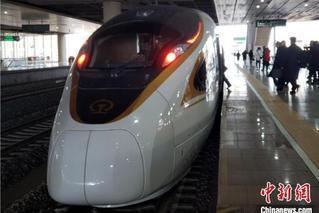 全國鐵路今起大調圖 京張高鐵開通運營