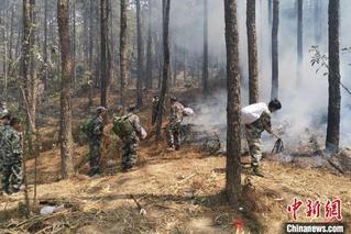 西昌森林火灾:泸山正面明火基本扑灭