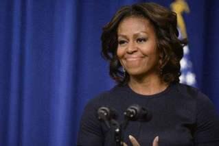 米歇尔・奥巴马参以�槲沂��了选总统�u�^苦笑?她的最新№回应来了