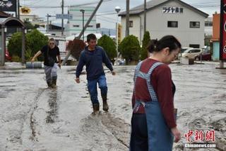台风重创日本已致78死 4000余人仍避难