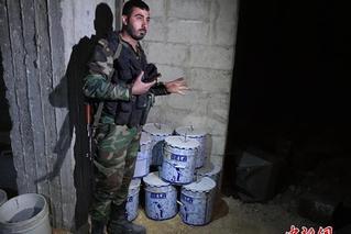 """俄军称在叙利亚杜马镇发现""""化武实验室"""""""