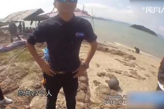 宁波:台风将登陆,游客海边露营被劝返