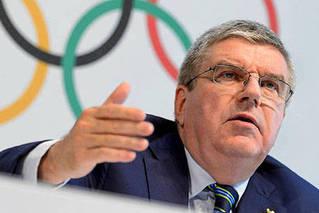 国际奥委会主席巴赫暂缓访日