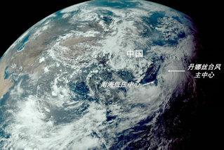 台风蓝色预警:丹娜丝将在浙近海转向
