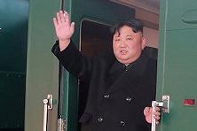 朝中社:金正恩已乘专列离开平壤前往越南