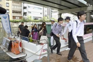 为缓解奥运交通压力 日本力推坐船上班