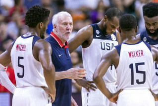 国际篮联最新排名:美国仍占据榜首