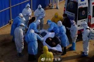 火神山医院首批收治患者已经进入病区