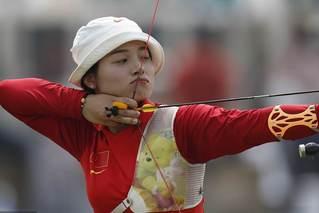 她拿下亚运会射箭女子首金 破韩垄断