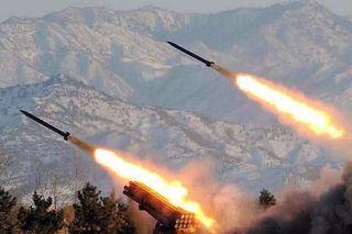 韩国军方称朝鲜试射两枚不明发射体