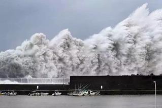 25年来最强台风袭击日本 致10死340余伤