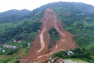 贵州水城山体滑坡已致26死 25人失联