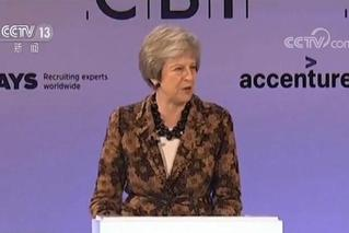 """英首相开始""""脱欧""""协议游说活动"""