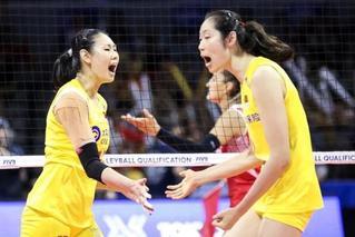 奥运门票到手!中国女排3比0胜土耳其